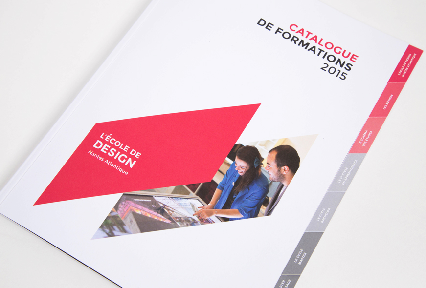 catalogue formations de L'École de design Nantes Atlantique