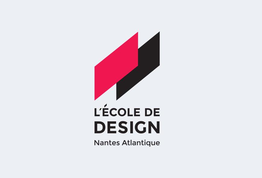 logotype de L'École de design Nantes Atlantique