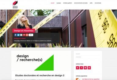 Blogs thématiques - L'École de design