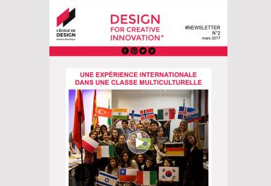 Newsletter - L'École de design